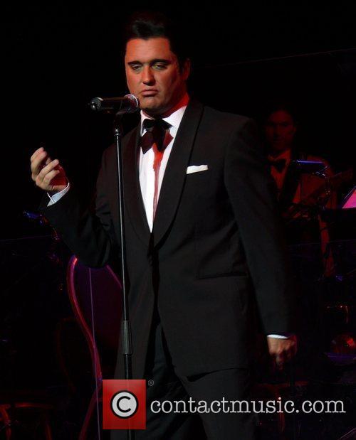 Premiere of Elvis - Die Show at Estrel...