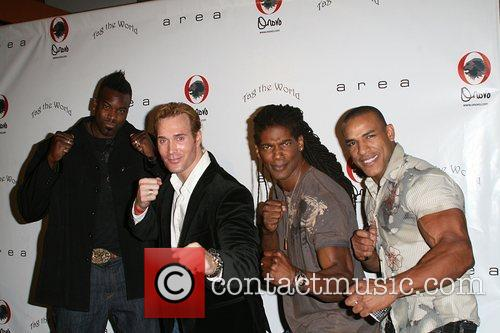 American Gladiators Pre-Emmy nominee party hosted by Darin...
