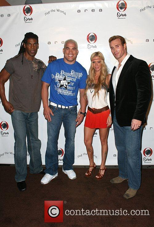 American Gladiators with Jenna Jameson Pre-Emmy nominee party...