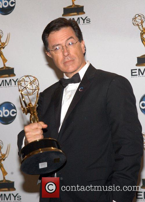 Stephen Colbert, Emmy Press Room