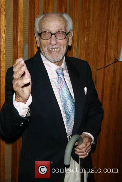 Eli Wallach Opening night of the Off-Broadway musical...