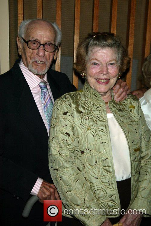 Eli Wallach and Anne Jackson Opening night of...