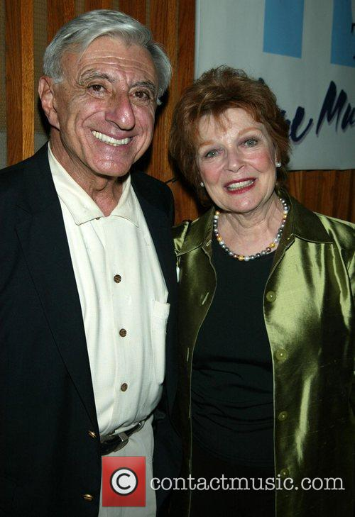 Jamie Farr and Anita Gillette Opening night of...
