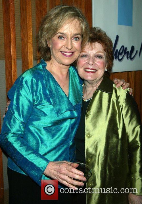Jill Eikenberry and Anita Gillette Opening night of...