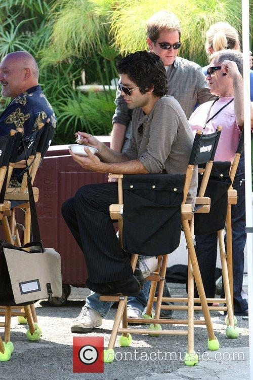 Adrian Grenier Adrian Grenier is surprised with a...