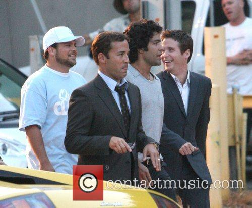 Jerry Ferarra, Jeremy Piven, Adrian Grenier and Kevin...
