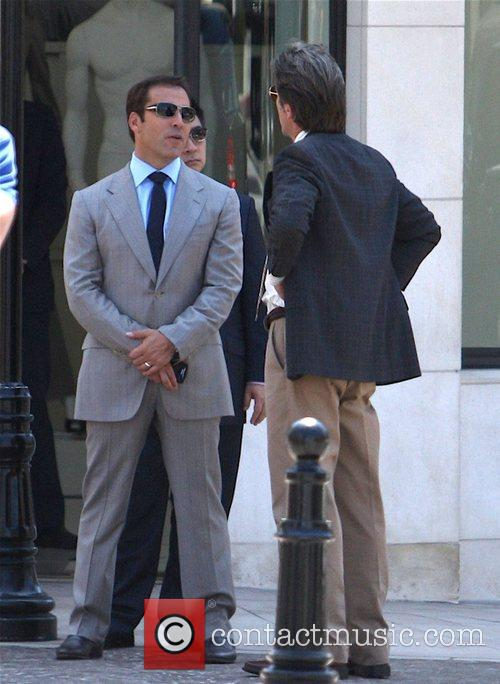 Jeremy Piven on the set of 'Entourage' filming...