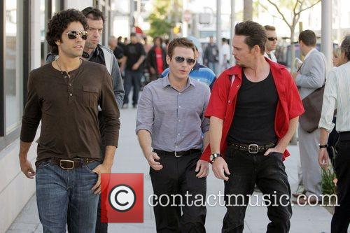Adrian Grenier, Kevin Connolly, Jerry Ferrara and Kevin...