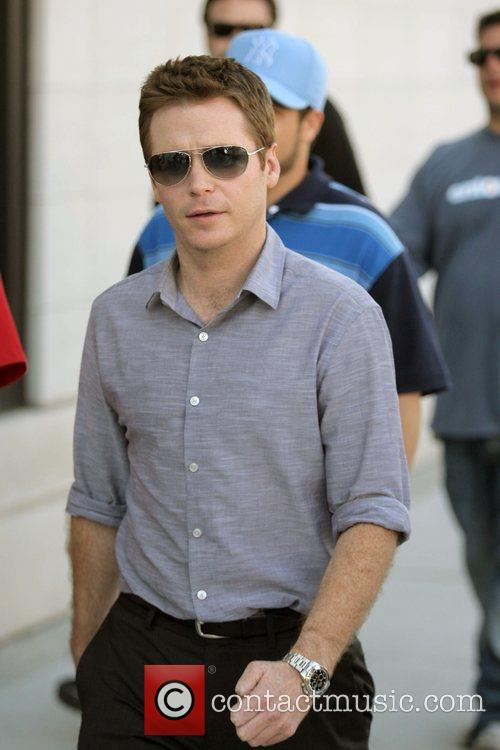 Kevin Connolly The cast of HBO's 'Entourage' filming...