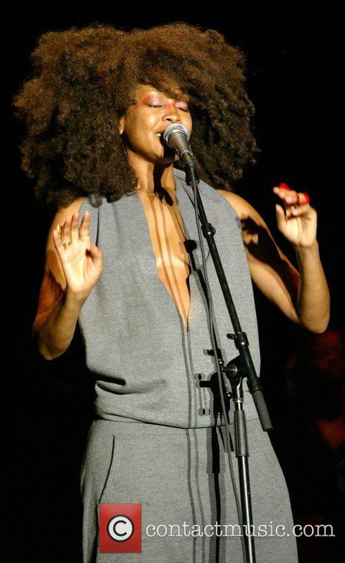 Erykah Badu performs live as part of the...