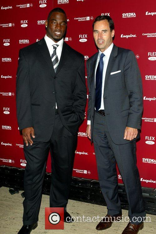 Justin Tuck and Kevin O'Malley Esquire Magazine celebrates...