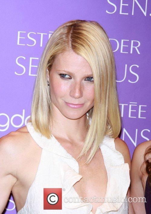 Gwyneth Paltrow Estee Lauder Spokesmodels appear at Bloomingdales...