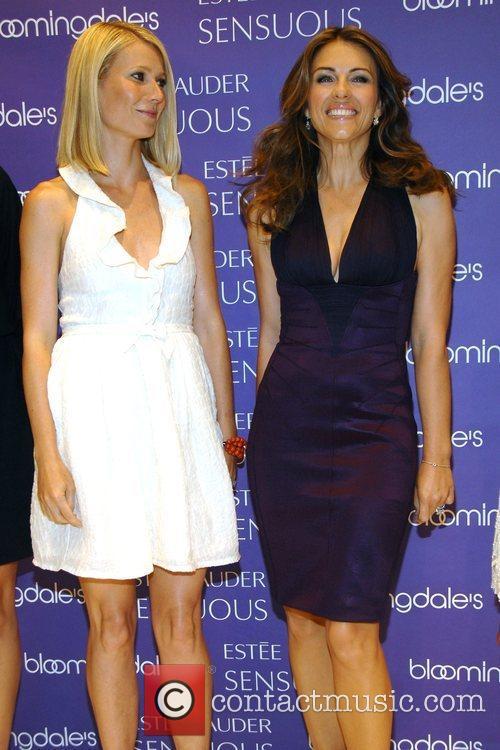 Gwyneth Paltrow and Elizabeth Hurley Estee Lauder Spokesmodels...