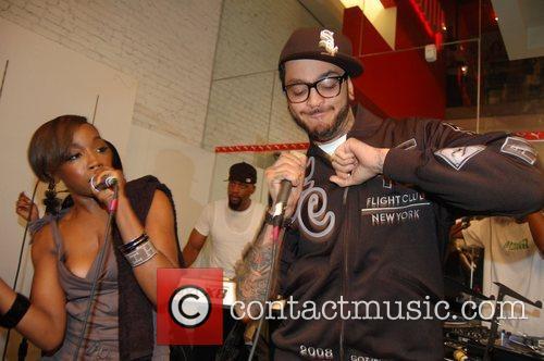Estelle and Travis Mccoy 9