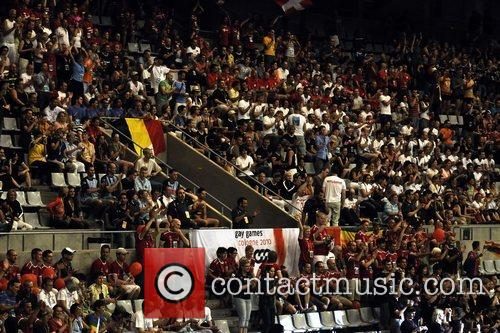 Atmosphere Eurogames 2008 opening ceromony held at the...