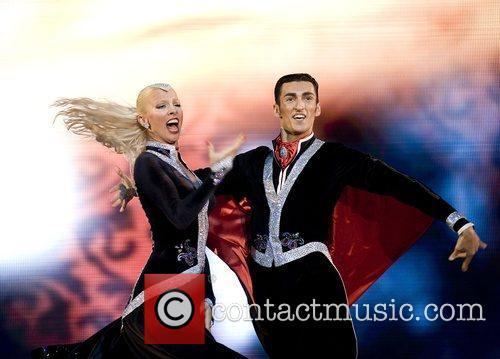 Azerbaijan's Eldar Dzhafarov and Anna Sazhina Eurovision Dance...
