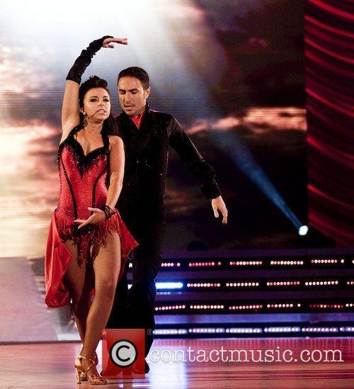 UK's Vincent Simone and Louisa Lytton Eurovision Dance...