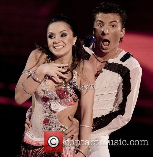 Ukraine's Serhij Koststskly and Liliya Podkopaeva Eurovision Dance...