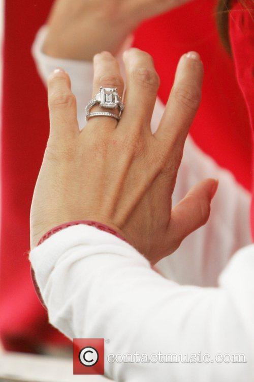 Eva Longoria Parker's rings Inaugural Stand for Hope!...