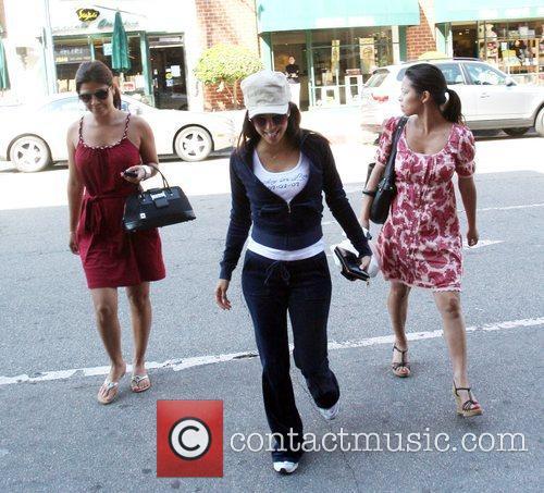 Eva Longoria Parker goes for a power walk...