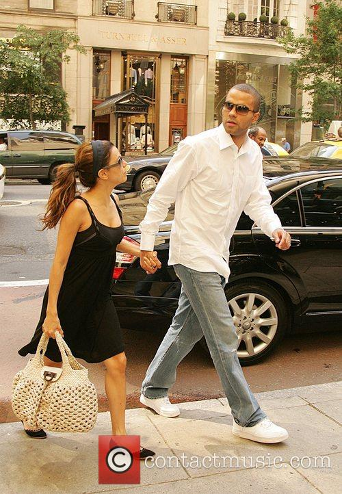 Eva Longoria, Newlyweds, Tony Parker and Manhattan Hotel 5