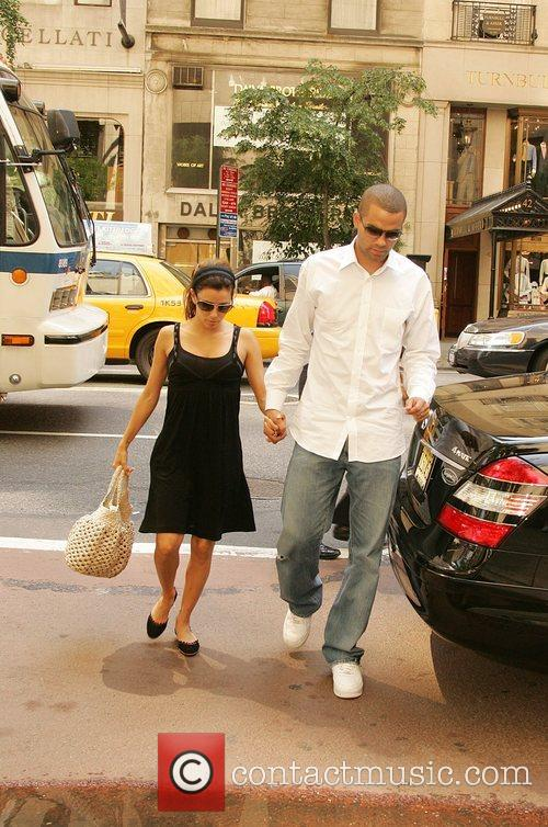 Eva Longoria, Newlyweds, Tony Parker and Manhattan Hotel 9