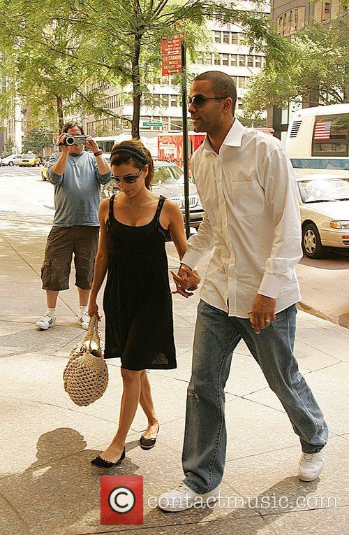 Eva Longoria, Newlyweds, Tony Parker and Manhattan Hotel 7