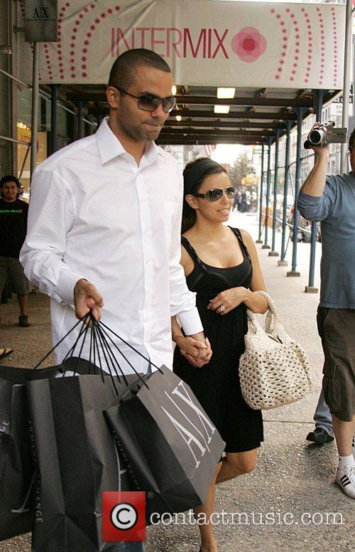 Eva Longoria and Tony Parker 6