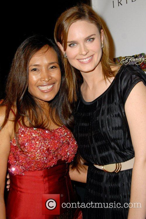 Somaly Mam and Emily Deschanel 'An Evening of...