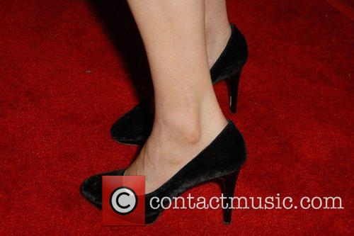 Are similar Emily deschanel feet and legs question interesting