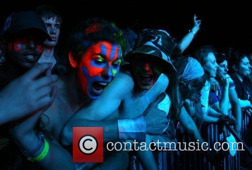 Fans of N.E.R.D.  Exit Festival 2008- Day...