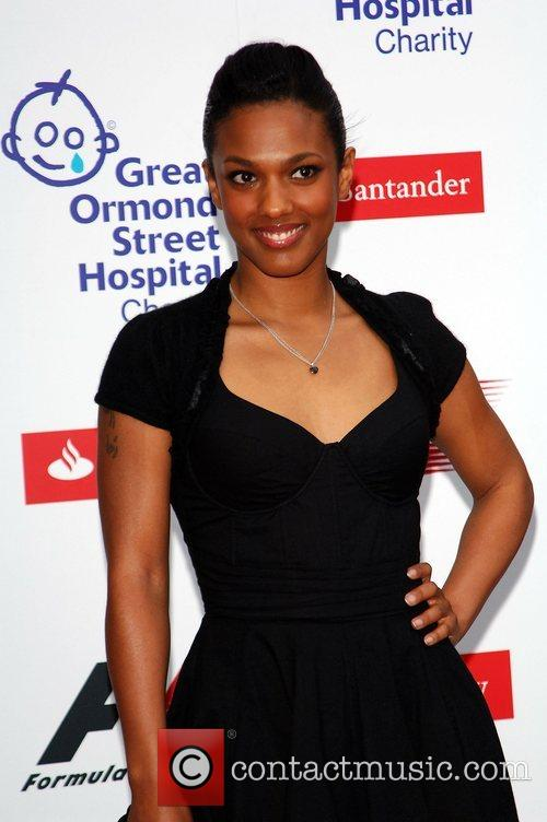 Freema Agyeman The F1 Party at the Bloomsbury...
