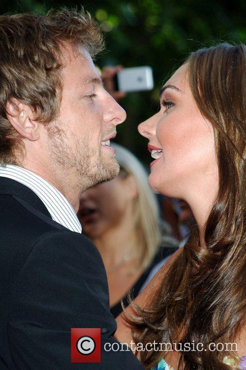 Jensen Button & Tamara Ecclestone The F1 Party...