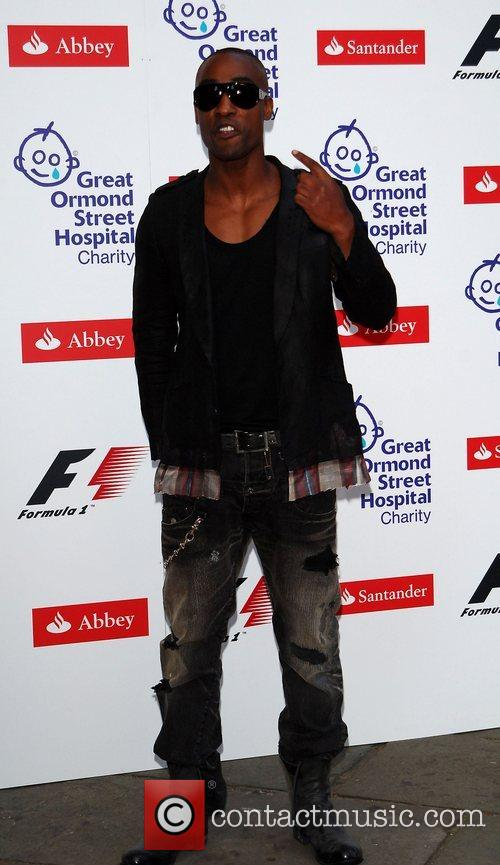 Simon Webbe The F1 Party at the Bloomsbury...