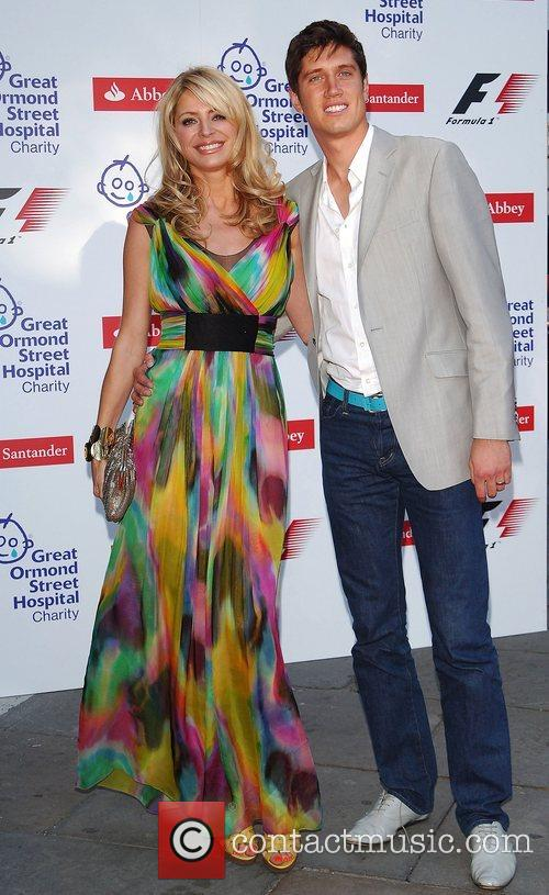 Tess Daly & Vernon Kay The F1 Party...