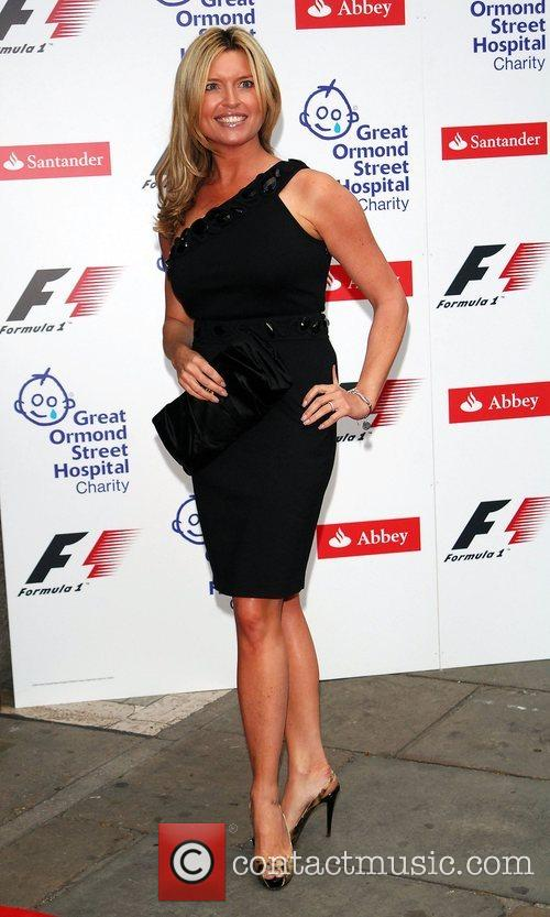 Tina Hobley  The F1 Party at the...