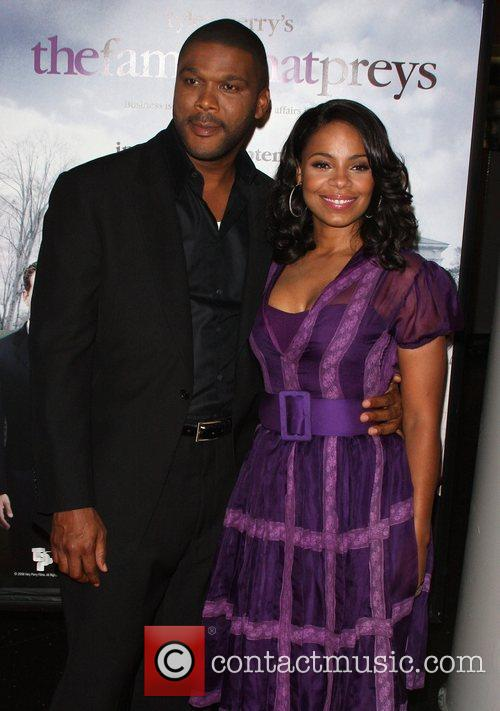 Tyler Perry and Sanaa Lathan 3