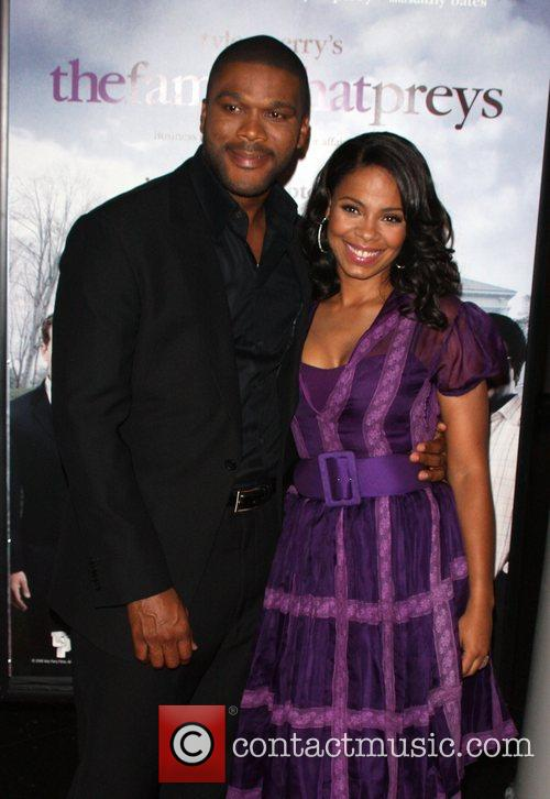 Tyler Perry and Sanaa Lathan 5