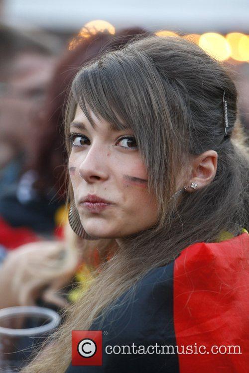 Public screening of the UEFA Euro 2008 finale...