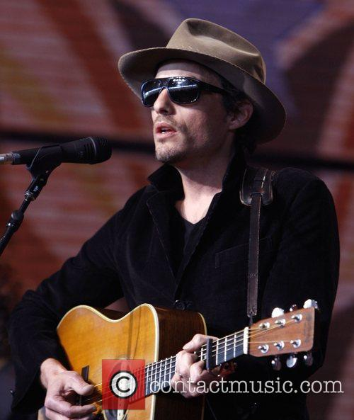 Jacob Dylan performs during Farm Aid 2008 at...