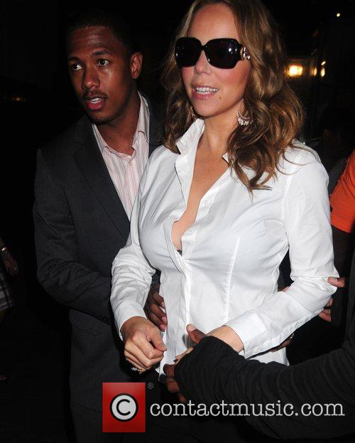 Nick Cannon and Mariah Carey 1