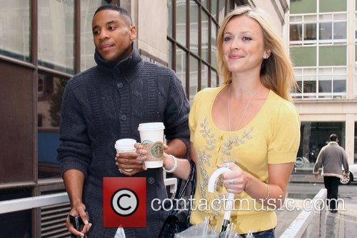 Fearne Cotton and Reggie Yates arrive at the...
