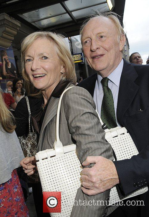 Lord Neil Kinnock and his wife  The...