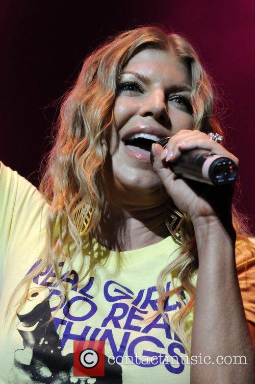 Fergie aka Stacy Fergusson performing live at the...
