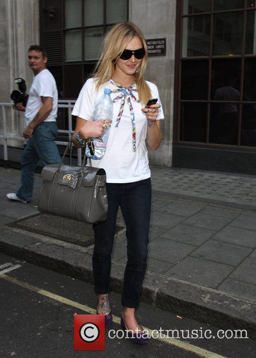 Fearne Cotton leaving the Radio1 studios