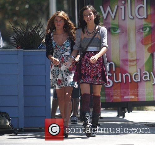 Shenae Grimes and Jessica Stoup The stars of...