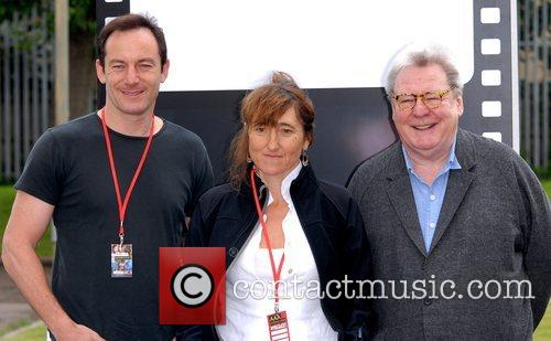 Alan Parker, Beeban Kidron and Lucius Malfoy 4