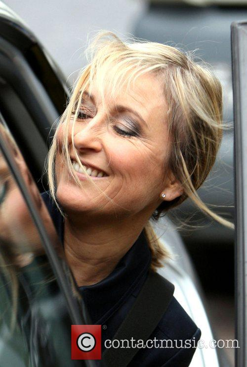 Fiona Phillips showing signs of wear and tear...