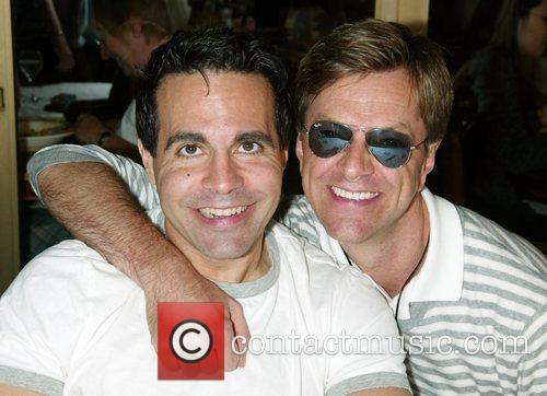 Mario Cantone and Jim Caruso