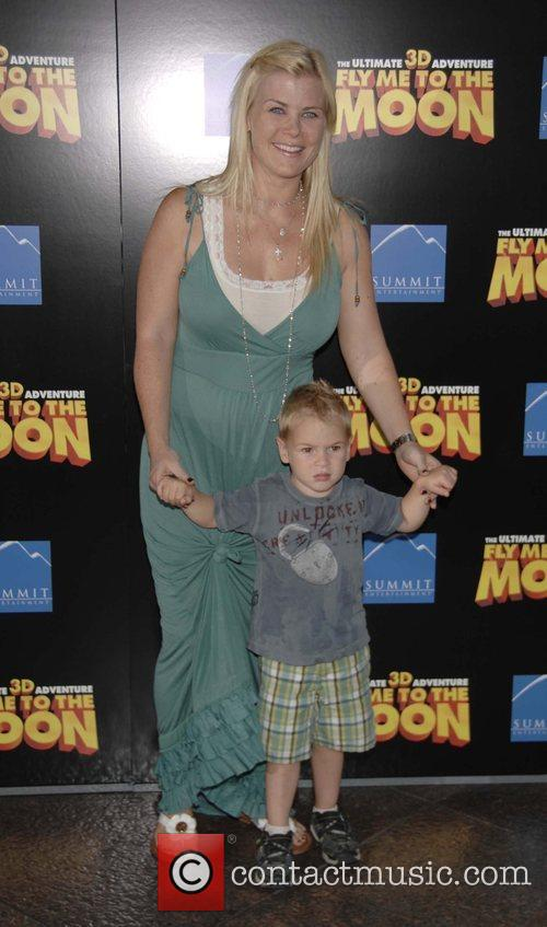 Allison Sweeney and son Ben The Los Angeles...